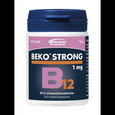 BEKO STRONG B12 1MG 100 tabl