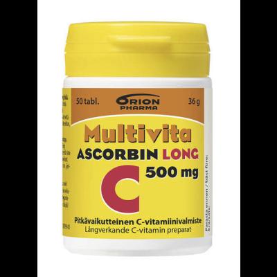 Multivita Ascorbin Long 500 mg X50 tabl