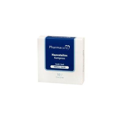 Pharmacare Haavataitos sideh. 7,5x7,5cm X10 kpl