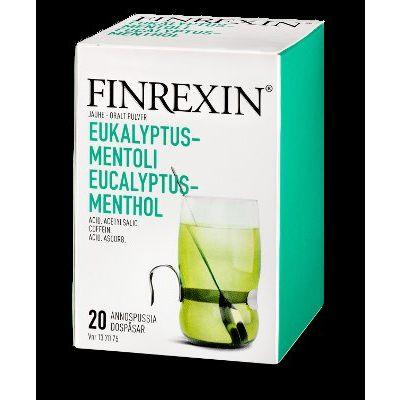 FINREXIN jauhe (eukalyptus-mentoli)20 kpl