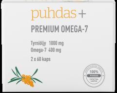 Puhdas+ Premium Omega-7  200 mg 120 kaps