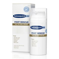 Salvequick Foot Rescue All in One Cream  monitoimijalkavoide 100 ml