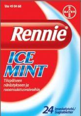 RENNIE ICEMINT imeskelytabl 24 fol